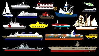 Water Vehicles (Updated) - Boats & Ships - Th...