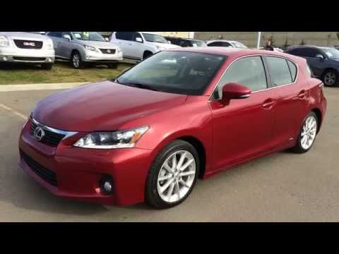 lexus-certified-pre-owned-matador-red-2011-ct-200h-fwd-hybrid---technology-review---beaumont,-ab