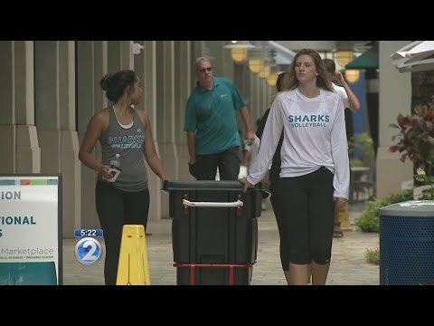 HPU students move into dorms at Aloha Tower Marketplace