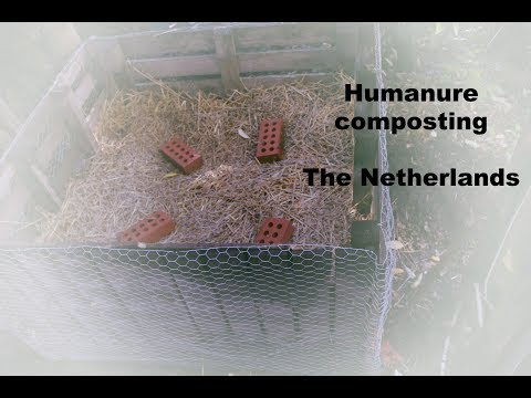 Humanure composting in The Netherlands | Organic Toilet