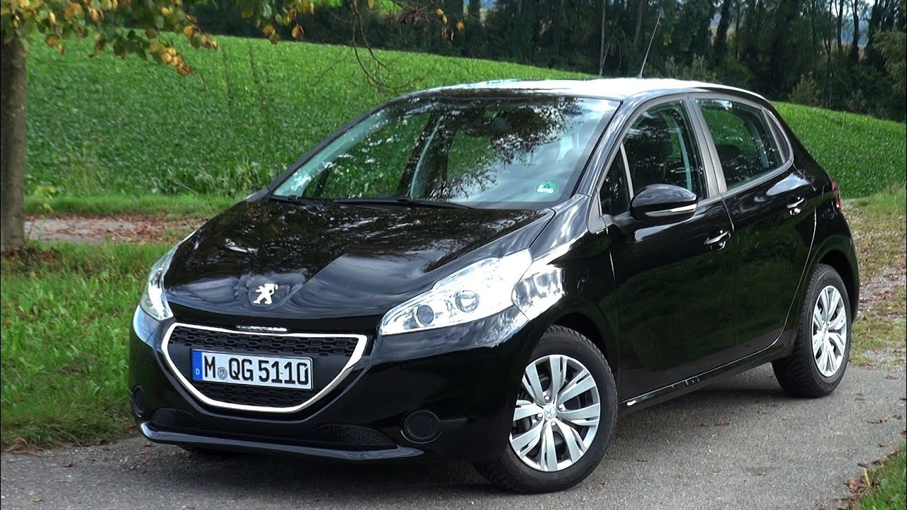 2014 peugeot 208 e hdi fap 92 hp test drive youtube. Black Bedroom Furniture Sets. Home Design Ideas