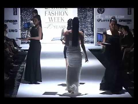 Neeta Lulla's latest collection at Lakme Fashion W...