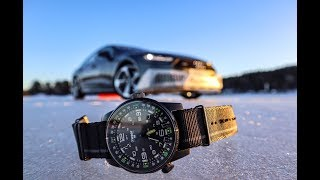 Обзор часов Traser P68 Pathfinder и дрифт на Audi A7 и Q8
