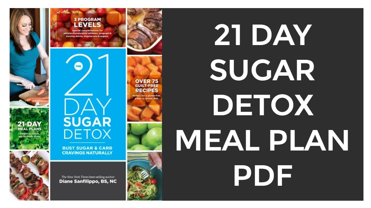 21 Day Sugar Detox Meal Plan PDF | 21 Day Sugar Detox Diet Plan PDF