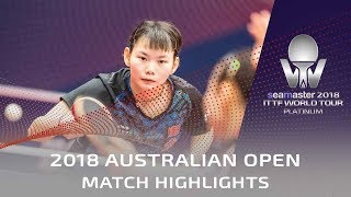 Mima Ito vs He Zhuojia | 2018 Australian Open Highlights (1/4)