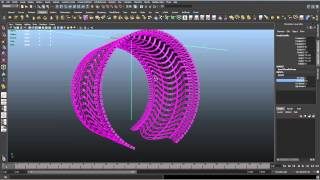 How to build a car tire in Maya
