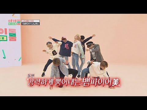 [나노댄스] 뱀파이어美 뿜뿜↗ 스트레이 키즈(Stray Kids)의 ′MIROH′♪ 아이돌룸(idolroom) 43회
