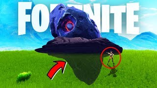 HOW BIG THE METEORITE IS!? FORTNITE GLITCHES HACKS And MORE!