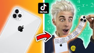 CHECKED OUT SCHOOL LIFE HACKS TIKTOK ** THEY WILL CHANGE YOUR LIFE **