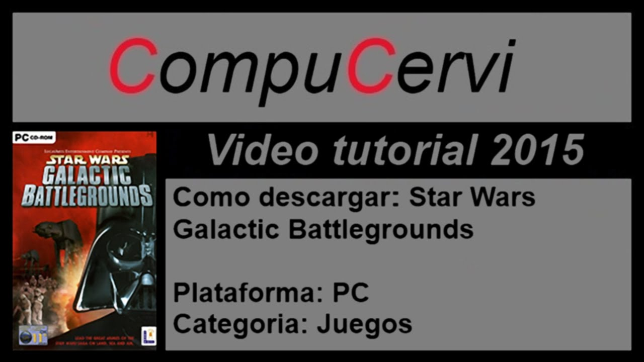 star wars galactic battlegrounds 3 descargar musica