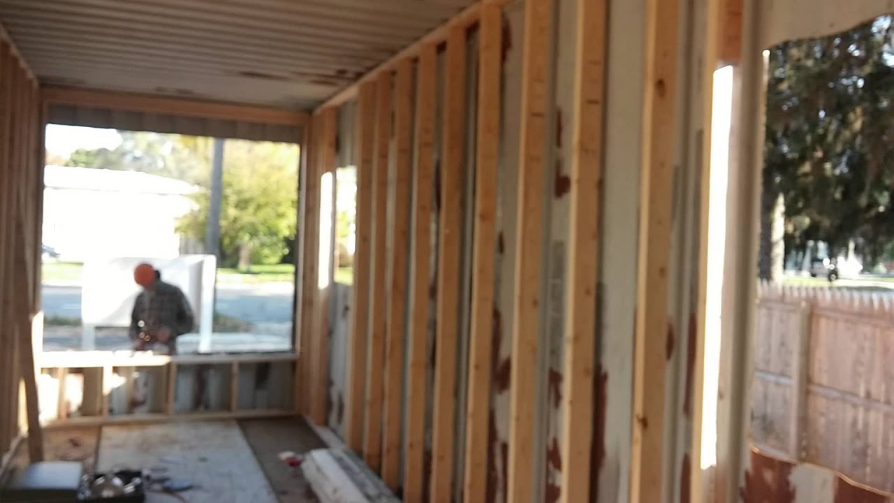 Building a house out of shipping containers youtube - Building a home out of shipping containers ...