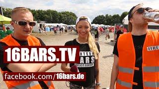 splash! 2014: Karate Andi & Olexesh unterwegs auf dem Zeltplatz (16BARS.TV)