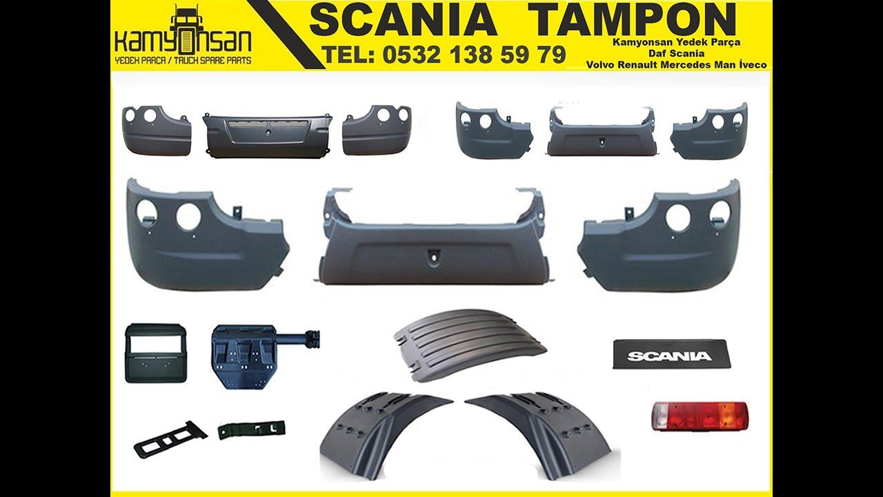 scania tampon - scania bumper - scania yedek parça - youtube