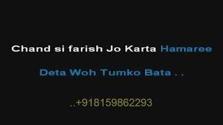 Chand Sifarish Jo Karta Hamari - Karaoke - Fanaa (2006) - Shaan ; Kailash Kher