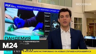 Число заразившихся коронавирусом в РФ возросло до 1264 - Москва 24