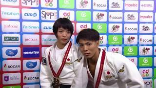 World Judo Champions - Abe siblings (JPN)