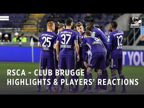 Highlights & players' reactions after RSCA-Club Brugge