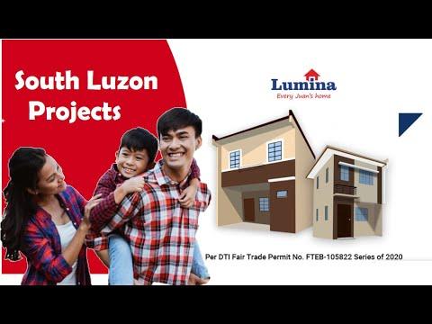 LUMINA HOMES SOUTH LUZON PROJECTS - MURANG PABAHAY