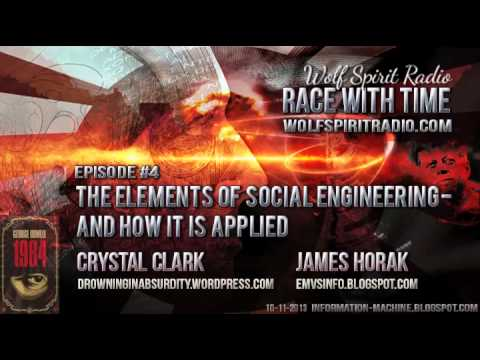 Race With Time 4 - Crystal Clark & James Horak - The Elements of Social Engineering