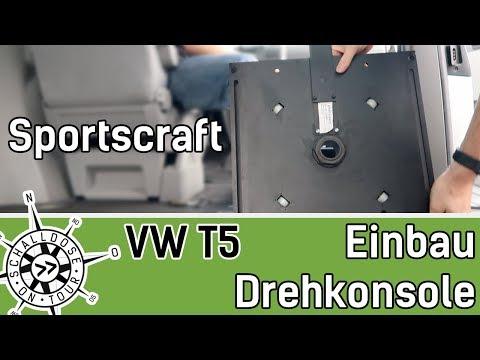 vw-t5-drehkonsole-von-sportscraft-einbauen-||-schalldose-on-tour