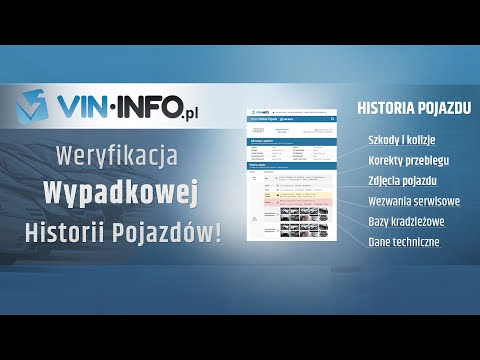 Historia pojazdu - VIN-Info - sprawdź VIN from YouTube · Duration:  1 minutes 30 seconds