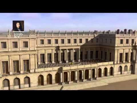 L'évolution du château de Versailles entre 1624 et 1798.