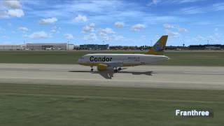 Flight Simulator FSX -German Air traffic