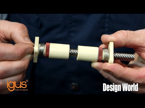 Introduction to igus DryLin SD Lead Screws at PACK EXPO