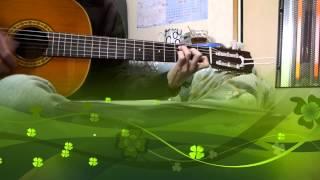 Đầu Xuân Cầu Cho Gia Đình - Guitar đệm hát - [HD]