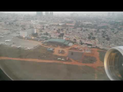 Angola survol Luanda