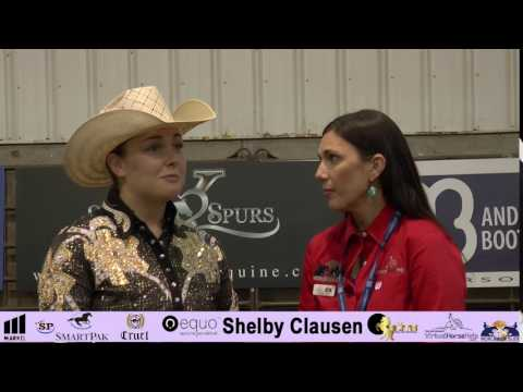 NRHA Derby - Shelby Clausen