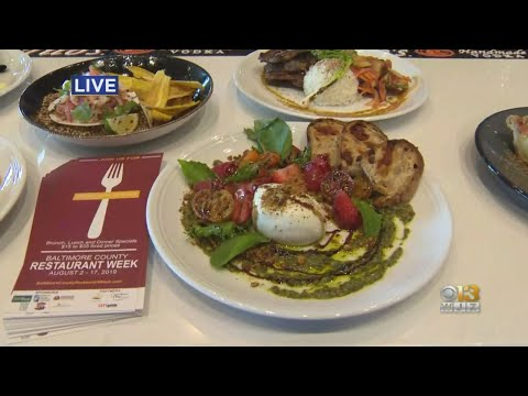 Baltimore County's Restaurant Week Goes Until August 17