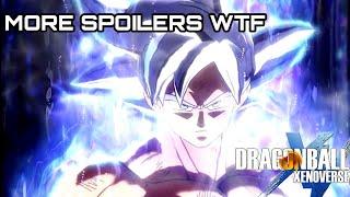 MORE SPOILERS ON SUPER | Dragon Ball Xenoverse 2 DLC Pack 6 Screenshots