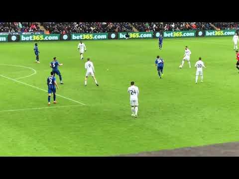 Swansea V Gillingham (4-1)