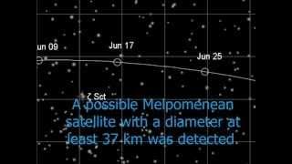 Asteroid 18 Melpomene