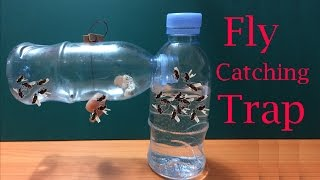 How to make Fly Trap at home easily to catch hundreds of fly in days | Creative Channel