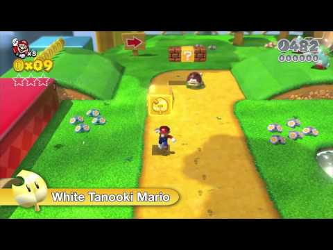 Super Mario 3D World (October 23)