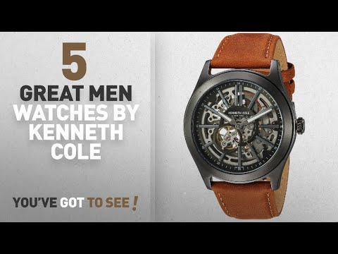 Top 10 Kenneth Cole Men Watches [ Winter 2018 ]: Kenneth Cole New York Men's ' Automatic Stainless