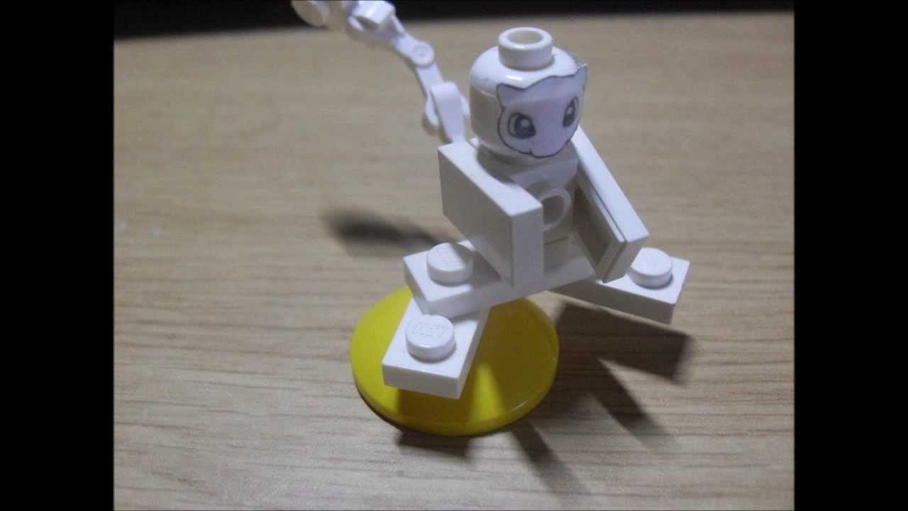 Lego Mew From Pokémon Tutorial Youtube