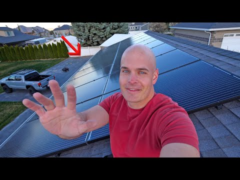 One Year Solar Update! – Is Do it Yourself Solar worth it?