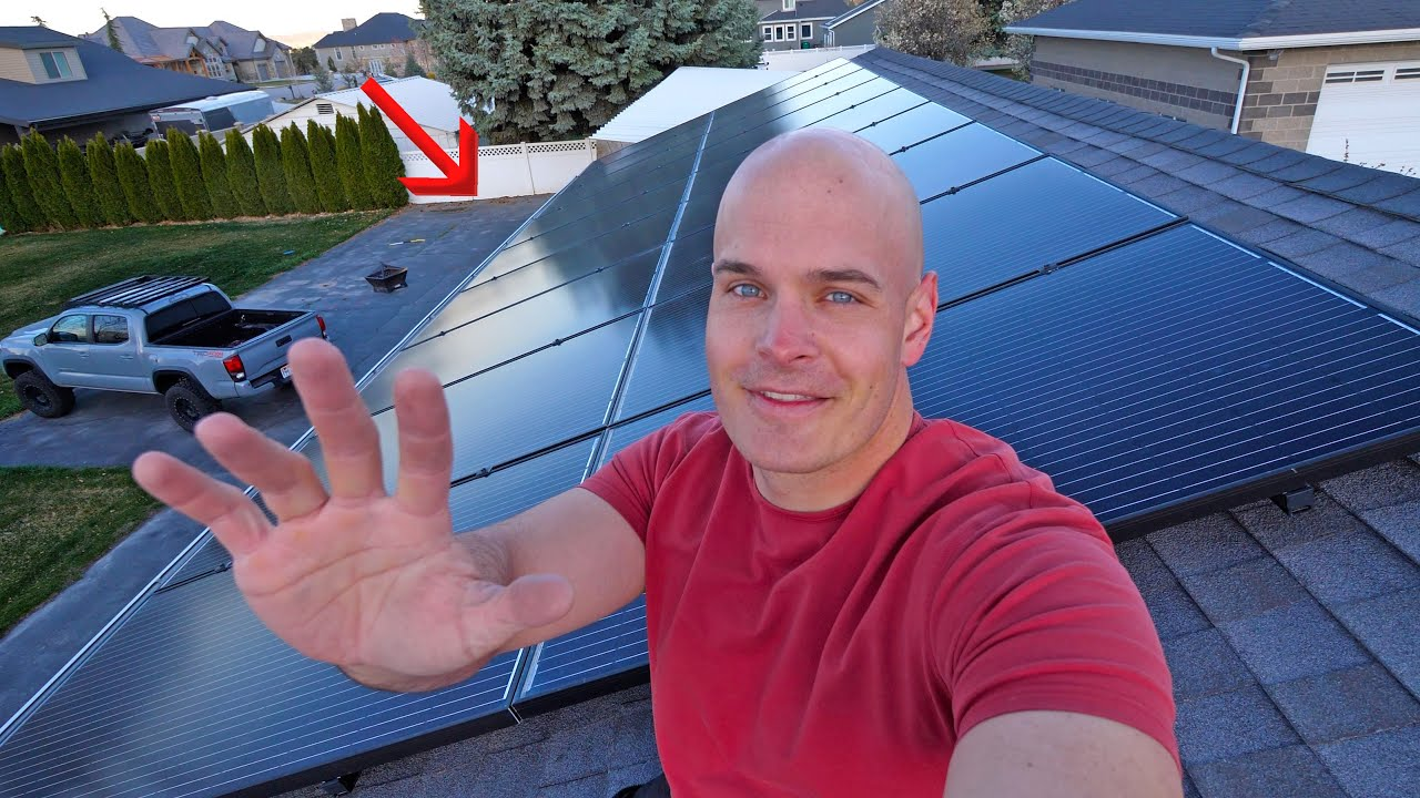 One Year Solar Update! - Is Do it Yourself Solar worth it?