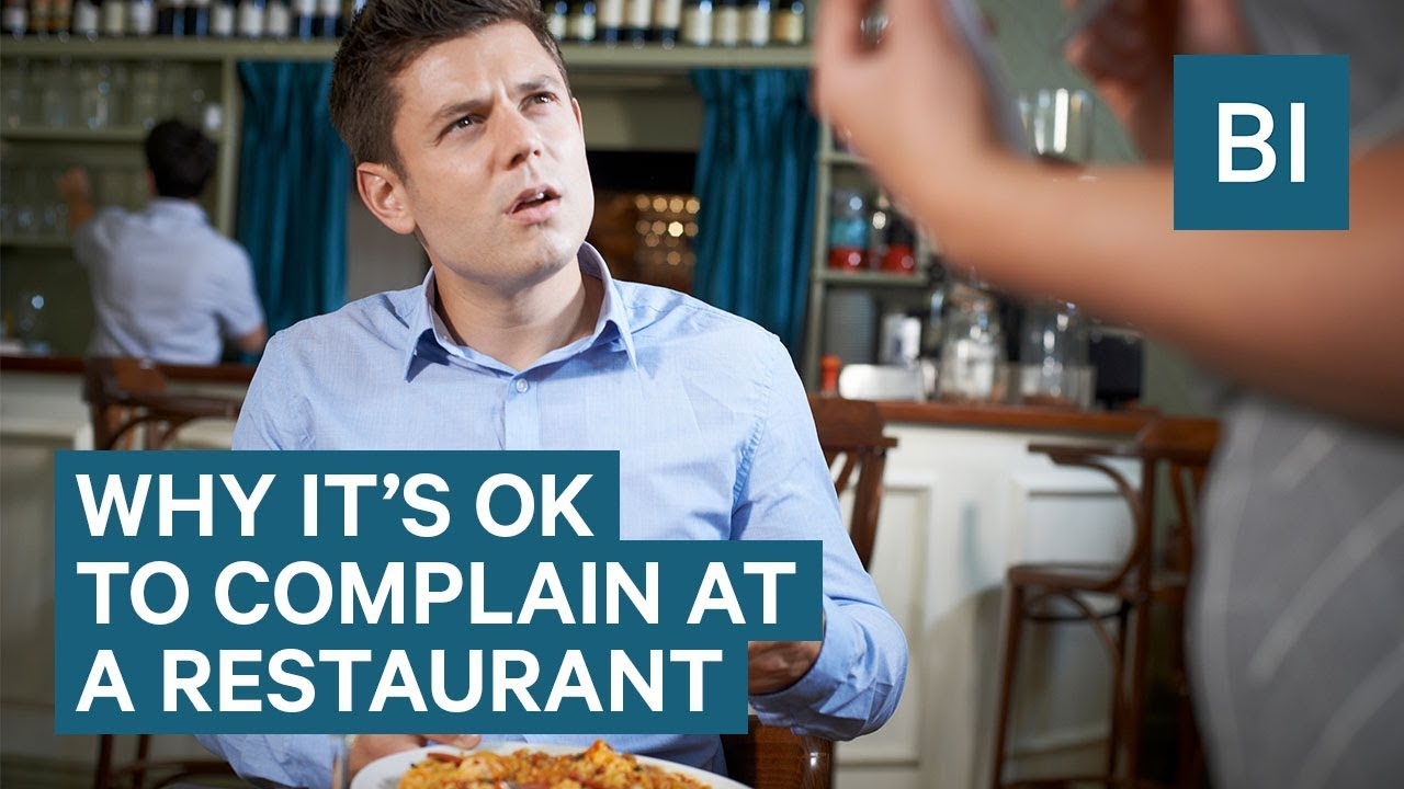 complain to the restaurant For help with restaurant food problems: you can complain to the store or the product's manufacturer if you don't choose to make a formal complaint to the usda.