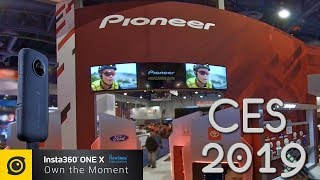 PIONEER Exhibit their New Technology at #CES2019