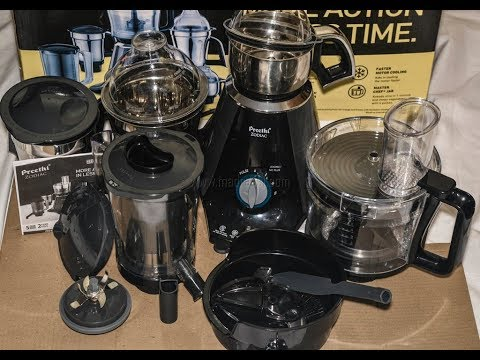 Preethi Zodiac Mixer Review / Hands On Review / Kitchen Appliances Review | Madraasi