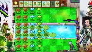 Na basen! - Plants vs Zombies #8