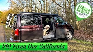 VW Fixed Our California and We Are Off to the NEC Show!