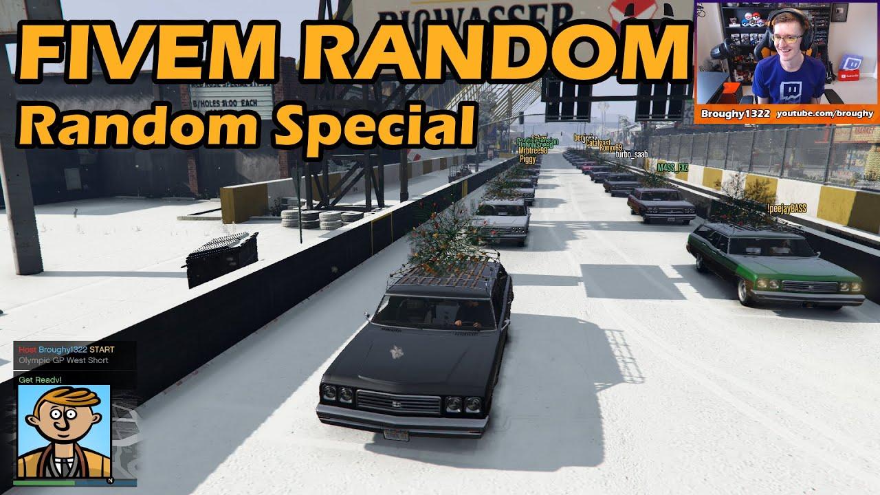 Is That Snow Or Salt? Random Special Class Race - GTA FiveM Unique Racing  Live #31