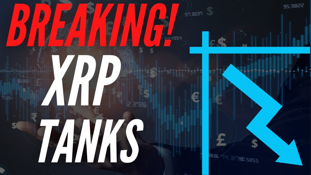 RIPPLE XRP TANKS As Selloff Takes Place! FEAR OF LOSS!