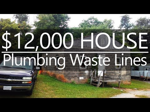 $12,000 CASH HOUSE - Plumbing Rough In - #18