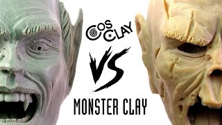 Monster Clay Vs. (new) CosClay - Which is best to Sculpt?
